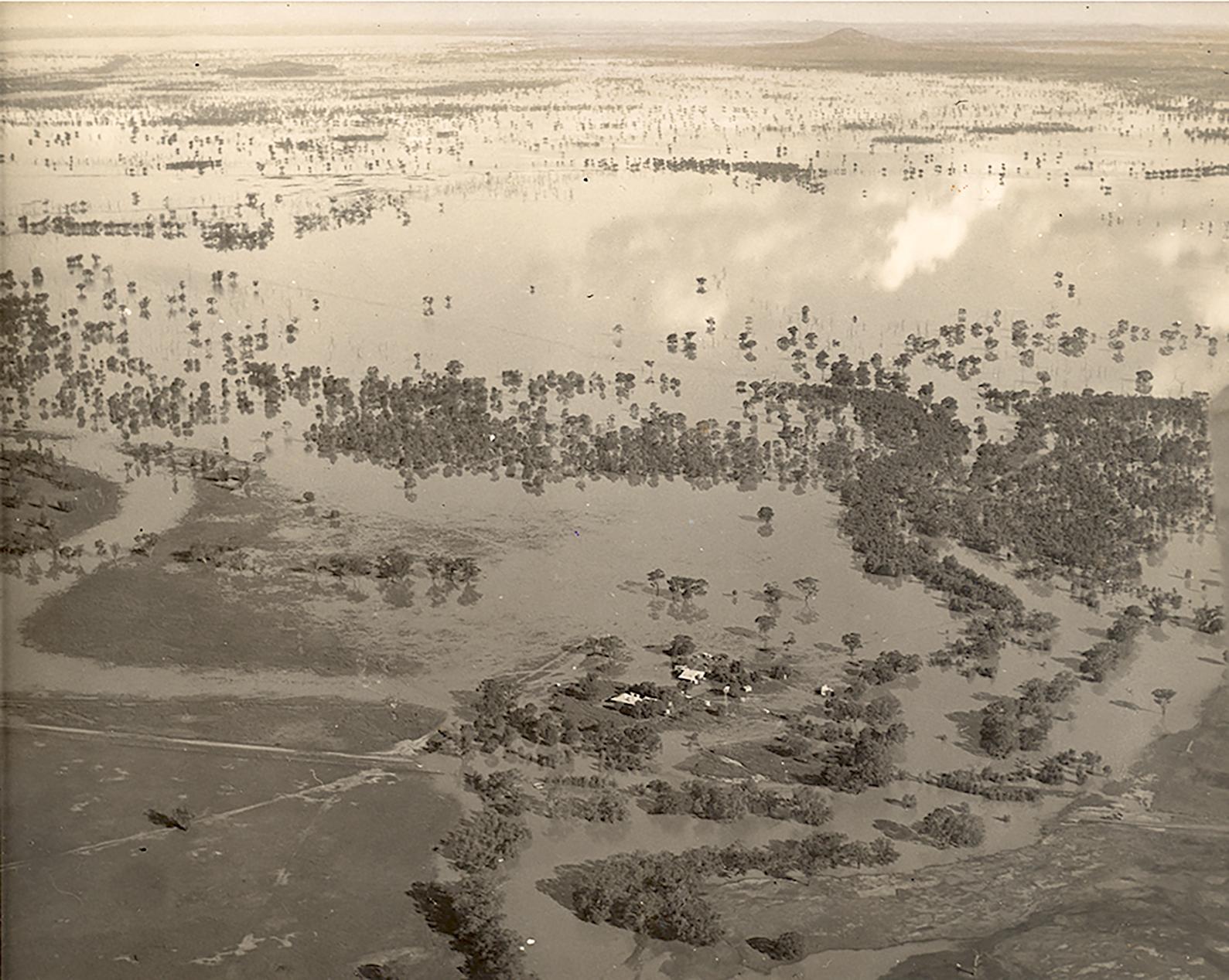 Manna Park's 1950 flood